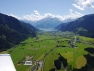 Zell am See Anflug